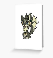 Zelda Twilight Princess wolf Link chibi Greeting Card
