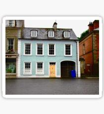 Blue House, Ramelton, Donegal, Ireland Sticker