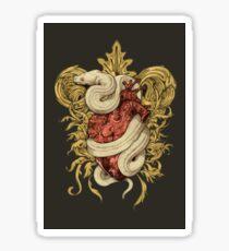 Gilded Snake Sticker