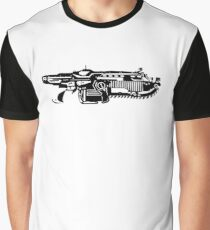 Gears Of War Lancer Print Graphic T-Shirt