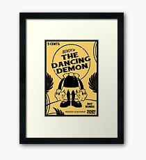 BATIM™ Bendy in The Dancing Demon Framed Print