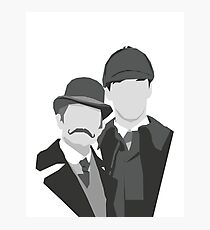 Watson & Holmes Photographic Print