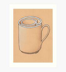 Electronic Mug Art Print