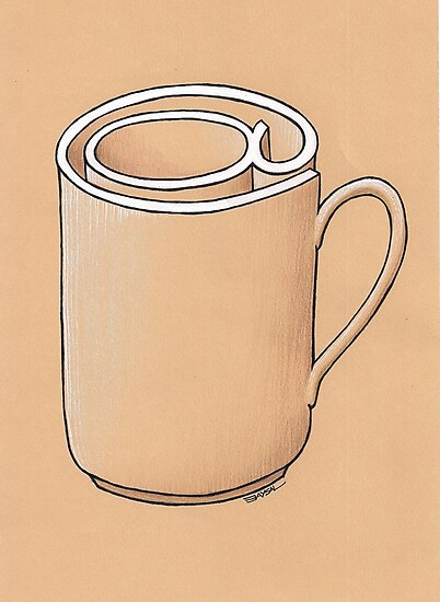 Electronic Mug by Ercan BAYSAL