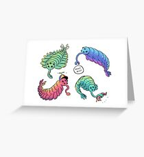Opabinia Pals Greeting Card
