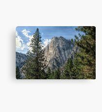 Yosemite Valley Heights Canvas Print