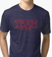 Team Steve - Stranger Things inspired design Tri-blend T-Shirt