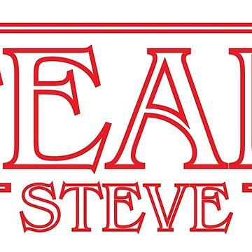 Team Steve - Stranger Things inspired design by tolson89