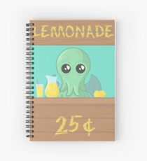 The Stall of Cthulhu Lime 1 Spiral Notebook