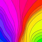 Wavy Rainbow by CarolineLembke