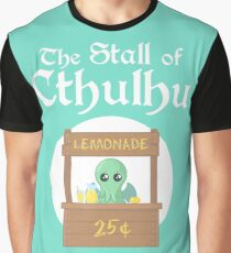 The Stall of Cthulhu Lime 3 Graphic T-Shirt