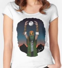 The Shaman's Nightly Rite Women's Fitted Scoop T-Shirt