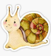 Cute snail Sticker