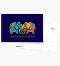 Littlest Elephant Love Links Postcards