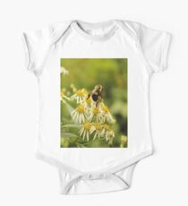Bubblebee on Flowers Kids Clothes