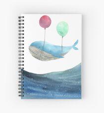 Cuaderno de espiral Solo se feliz