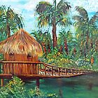 Unkle Oko's Jungle Shack by WhiteDove Studio kj gordon