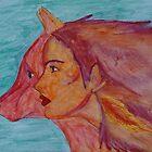 Fire Wolf Spirit Guide by DaysEndStudio