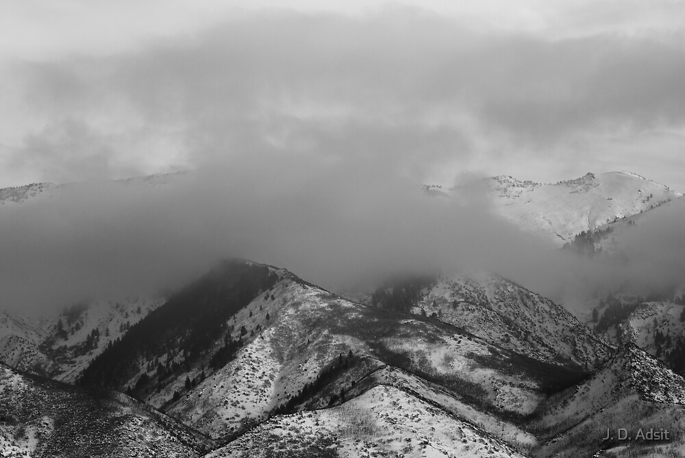 Descending Fog by J. D. Adsit