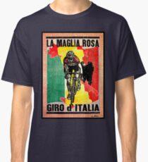 GIRO d ITALIA: Vintage La Maglia Rosa Print Classic T-Shirt