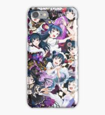 Yoshiko Tsushima Collage; Love Live iPhone Case/Skin