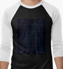 USGS TOPO Map Colorado CO Sunnydale 402120 1949 24000 Inverted Men's Baseball ¾ T-Shirt