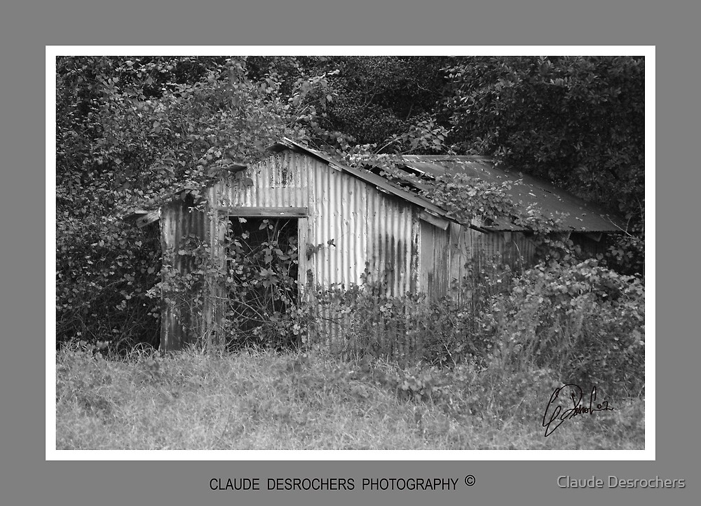 OLD GARAGE by Claude Desrochers