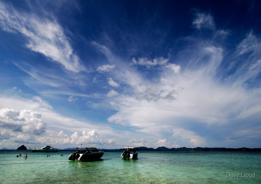 Tropical Waters by Dave Lloyd