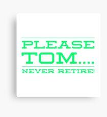 Tom Brady - Patriots Canvas Print