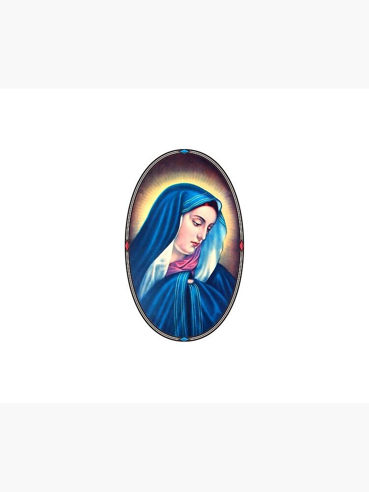 Virgin Mary  by zukenutter