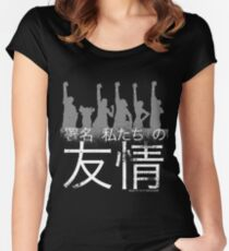 Sign of our friendship Women's Fitted Scoop T-Shirt