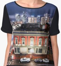 City Lights Women's Chiffon Top