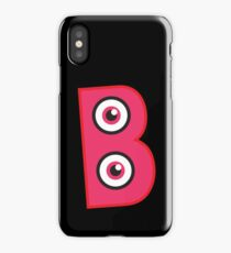 Monster Alphabet- B iPhone Case/Skin