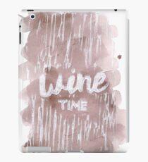 Wine Time Red Blend iPad Case/Skin