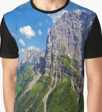 Cliff Face Graphic T-Shirt