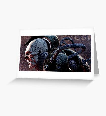 Battle scars Greeting Card