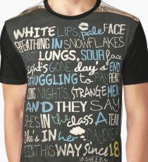 ED SHEERAN A TEAM Graphic T-Shirt