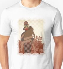Sock Monkey Mother and Child T-Shirt