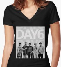 Day6  Women's Fitted V-Neck T-Shirt