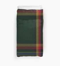 Moran Family Ubique Clan/Family Tartan  Duvet Cover