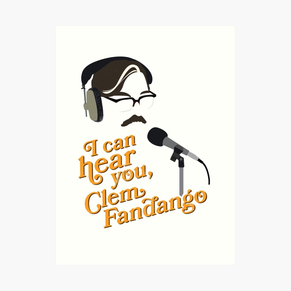 "Toast of London - ""I can hear you, Clem Fandango"" Art Print"