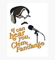 "Toast of London - ""I can hear you, Clem Fandango"" Photographic Print"