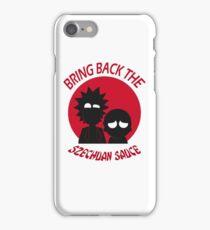 Rick and Morty - Szechuan Sauce  iPhone Case/Skin