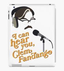 "Toast of London - ""I can hear you, Clem Fandango"" iPad Case/Skin"