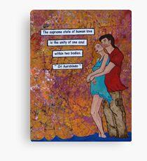 Human Love...  Canvas Print