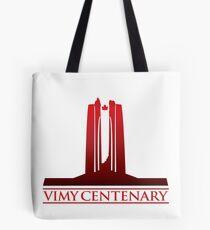 Vimy Centenary Fade to Black Tote Bag