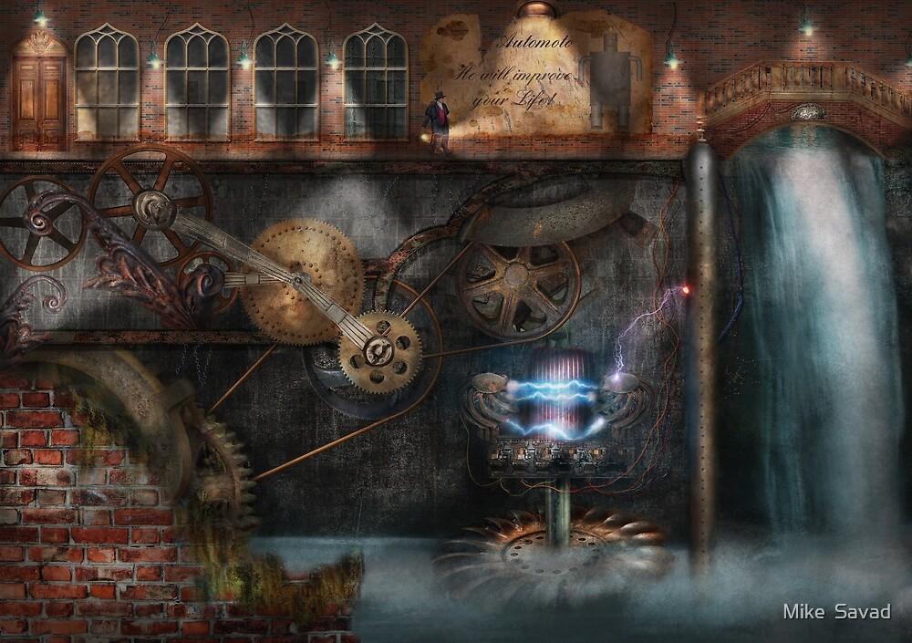 Steampunk - Industrial Society by Michael Savad
