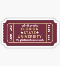 Florida State University - Style 27 Sticker