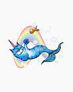 UniCatMaid in Rainbow Bubbles by jitterfly