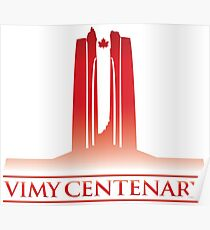 Vimy Centenary Flag Transition Poster